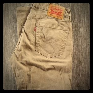 Levi Strauss jeans color is beige